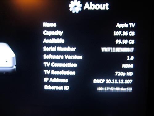 upgraded appltv capacity Apple TV Harddrive upgrade