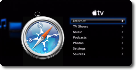 safari on appletv Web browser plugin for the Apple TV, anyone?
