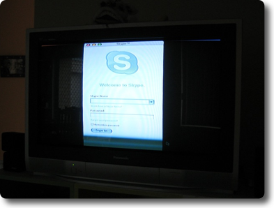 skype on appletv Not just Firefox, Skype too