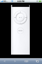 iphoneasremote Apple TVs new remote:  the iPhone