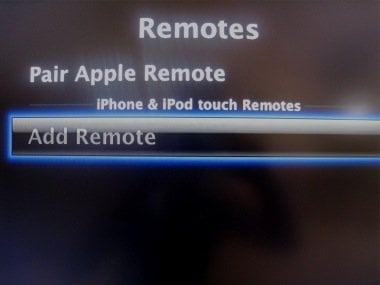 remote menu Apple TV 2.1 is now available