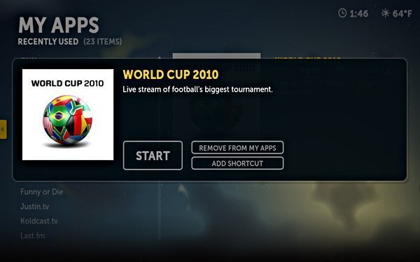 boxee world cup 2010 apple tv Watch the World Cup live on Apple TV