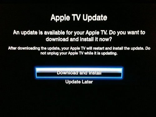 apple tv 2g 4.2.1 software update