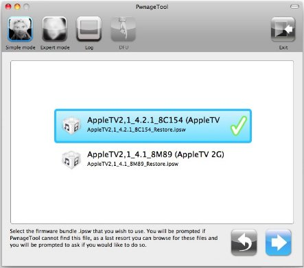 pwnagetool appletv 2g 4 2 1 How To: Jailbreak Apple TV 2G on iOS 4.2.1 with PwnageTool