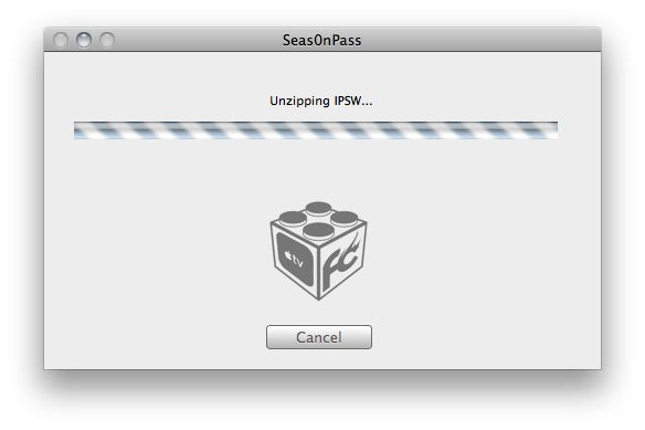 Seas0nPass 03 How to jailbreak Apple TV 2 5.0 (iOS 5.1) with Seas0nPass (tethered)