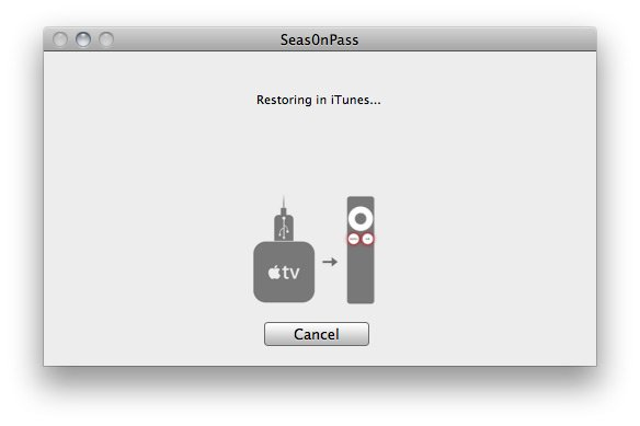 Seas0nPass 051 How to jailbreak Apple TV 2 5.0 (iOS 5.1) with Seas0nPass (tethered)