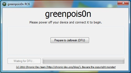 atvh gprc6 02 How to jailbreak Apple TV 2 with greenpois0n rc6