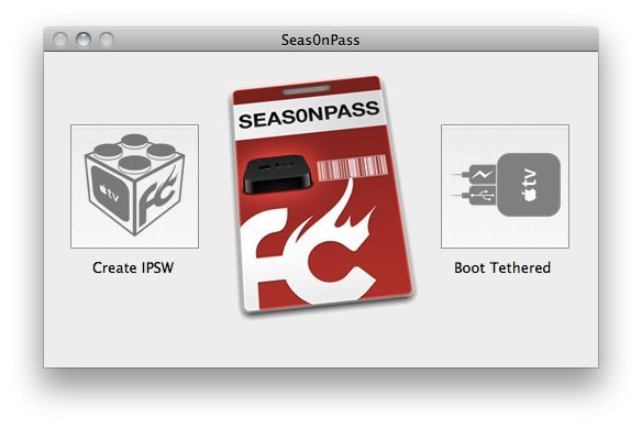 Seas0nPass jailbreak for Apple TV 2 5.0.1