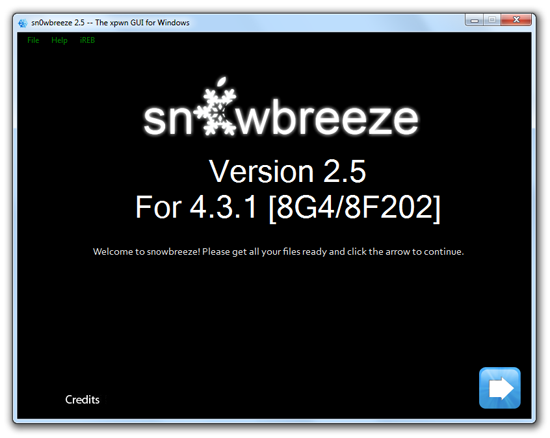 sn0wbreeze 2 5 apple tv 2 Sn0wbreeze Updated to Jailbreak Apple TV 2 on iOS 4.3.1 (updated)