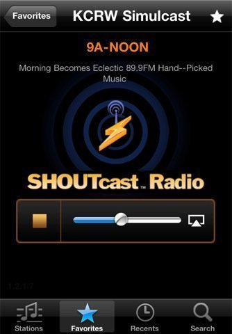 SHOUTcast Radio App apple tv 2 air play 02 SHOUTcast Radio App Updated to Support AirPlay