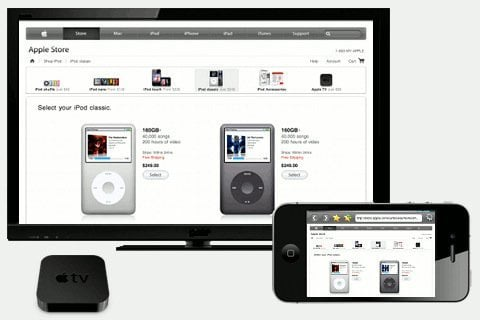 airplay anabled app apple tv 2 AirPlay Enabled Apps: Web Browser, Camera and Videos for Apple TV, TVOut Genie! (review)
