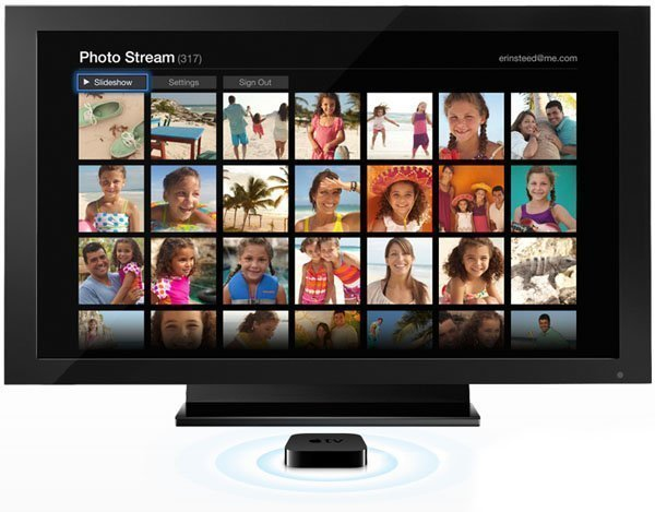 photo stream apple tv 2 Photo Stream and AirPlay Mirroring for iPad 2 Coming to Apple TV 2