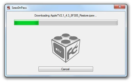 seas0npass01 How to Jailbreak Apple TV 2 on iOS 4.3 or iOS 5 Beta with Seas0nPass 0.7.7 (untethered)