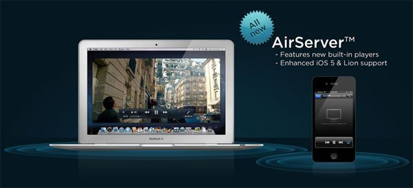 airserver airplay for mac ios AirServer 4.2 released, optimized for iPad 3