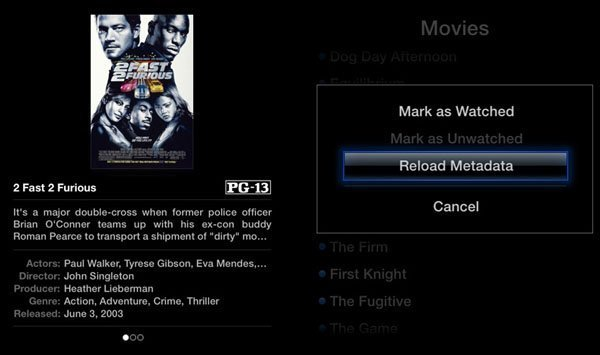 Media Player for Apple TV 2
