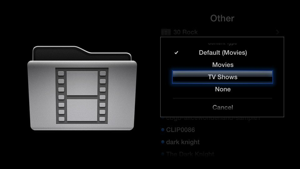 Media Player0.9.4 for Apple TV 2