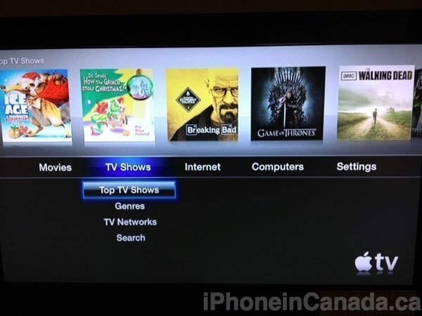 apple tv 2 tv shows Apple activates, pulls TV shows streaming on Apple TV 2 in UK, Canada and Australia 