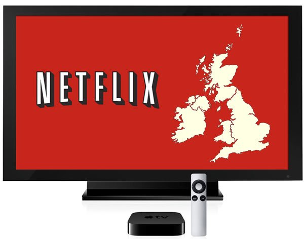 Netflix AppleTV uk ireland1 Netflix now available on Apple TV in UK and Ireland
