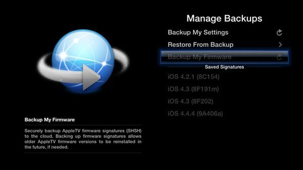 aTv Flash 1.3 for Apple TV 2