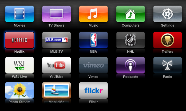 Apple Tv software update 5.0