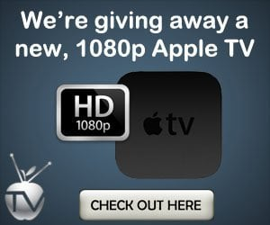 new apple tv giveaway The new 1080p Apple TV 3 proves to be a tough cookie to crack