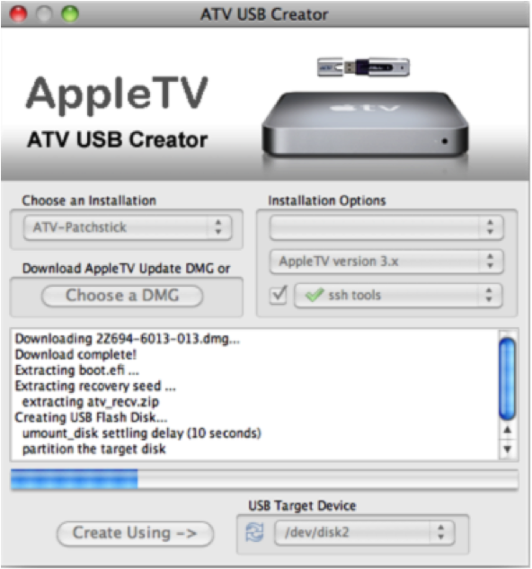 xbmc apple tv1 How to install XBMC 11.0 Eden on first generation Apple TV