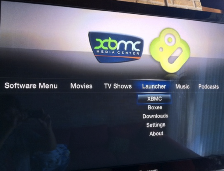 xbmc apple tv1 03 How to install XBMC 11.0 Eden on first generation Apple TV