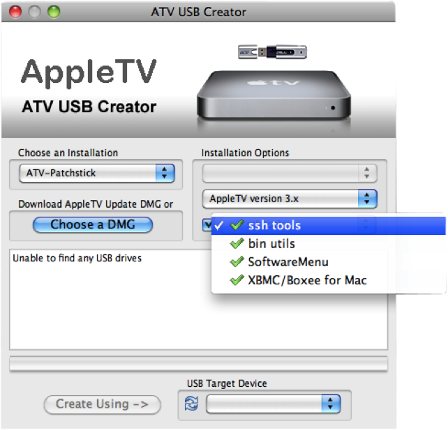 xbmc on apple tv 1 How to install XBMC 11.0 Eden on first generation Apple TV