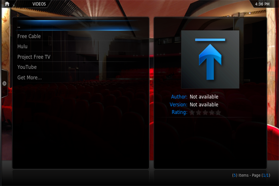 xbmc install 10 How to install XBMC add ons and plugins on Apple TV