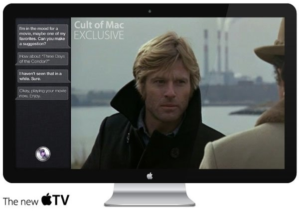 apple hdtv siri facetime Source unveils design and features of Apple HDTV