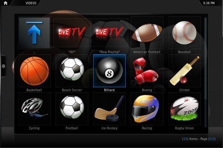 live tv addon for xbmc