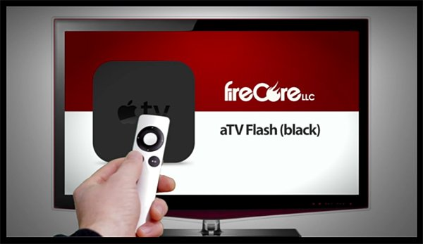 aTV Flash (black) for Apple TV 2