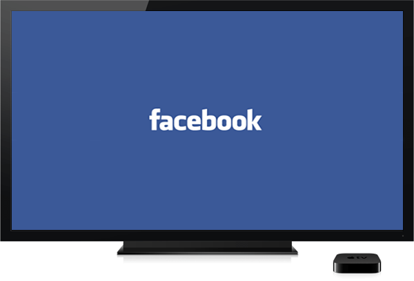 Facebook on Apple TV