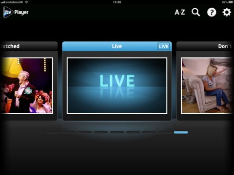 itv ipad iTV Player app adds live streaming, supports AirPlay Mirroring