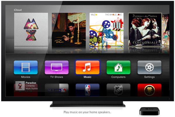 apple tv airplay speaker out Apple TV iOS 6 beta tweaking AirPlay speaker out feature