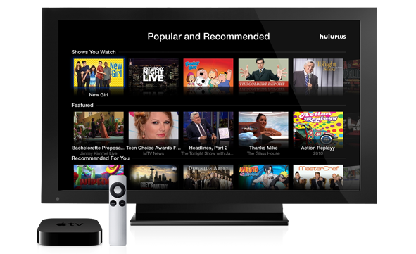 hulu plus Apple TV Hulu Plus officially arrives on Apple TV