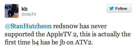 t03 Redsn0w getting a little Apple TV 2 love