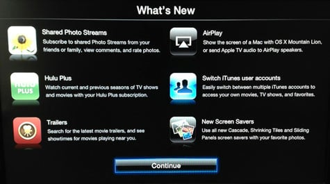  Apple TV software update 5.1 (iOS 6) released for Apple TV 2 and Apple TV 3