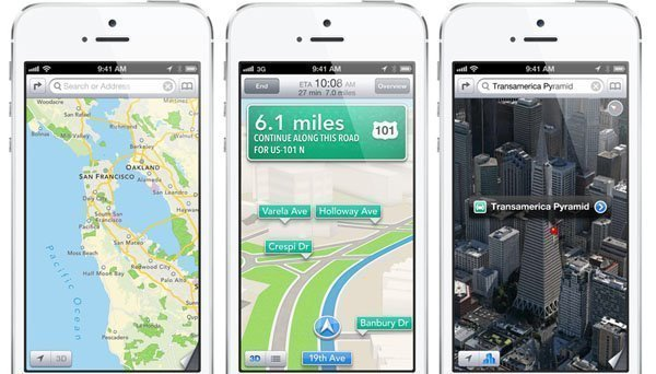 maps AirServer re engineered for iOS 6
