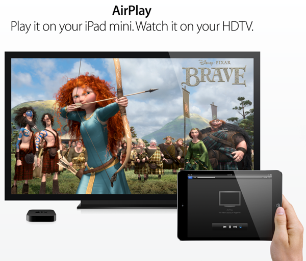 iPad mini AirPlay Mirroring