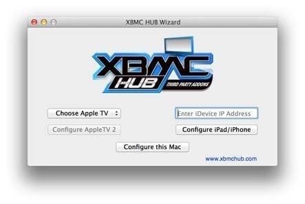 XBMC Wizard for Mac and Apple TV
