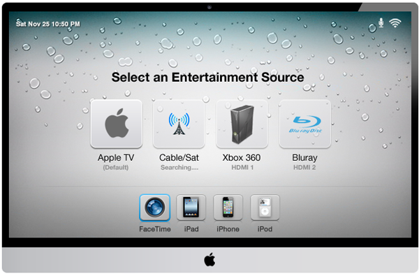apple tv set concept 08 Visions of the new Apple TV: Hardware, UI and OS Concept