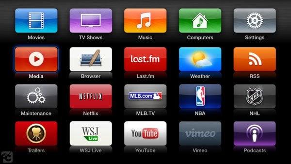 atv flash black menu aTV Flash (black) 2.1 for Apple TV 2 brings TV Show Playlists, Custom Favorites and more