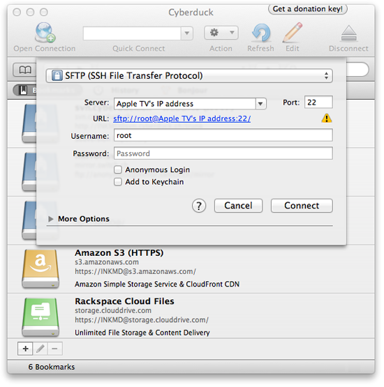 atv pass How to clone the XBMC installation on Apple TV 1 and Apple TV 2