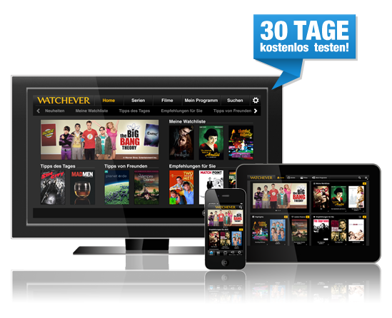 watchever video service on apple tv in Germany