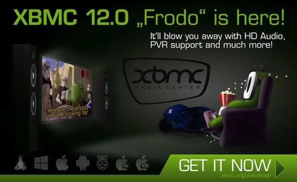 xbmc frodo XBMC Frodo (12.0) is officially released