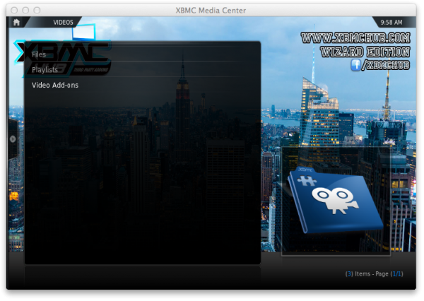 xbmc programs e1359128279459 XBMC on Apple TV: How to navigate XBMCs menus options