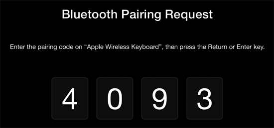 bluetooth atv 02 How to add and use a Bluetooth keyboard with your Apple TV (5.2/iOS 6.1)