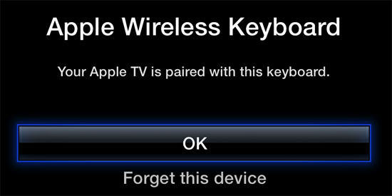 bluetooth atv 05 How to add and use a Bluetooth keyboard with your Apple TV (5.2/iOS 6.1)