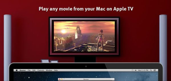 beamer for apple tv Beamer updated to version 1.6.2, currently on sale with 25% off